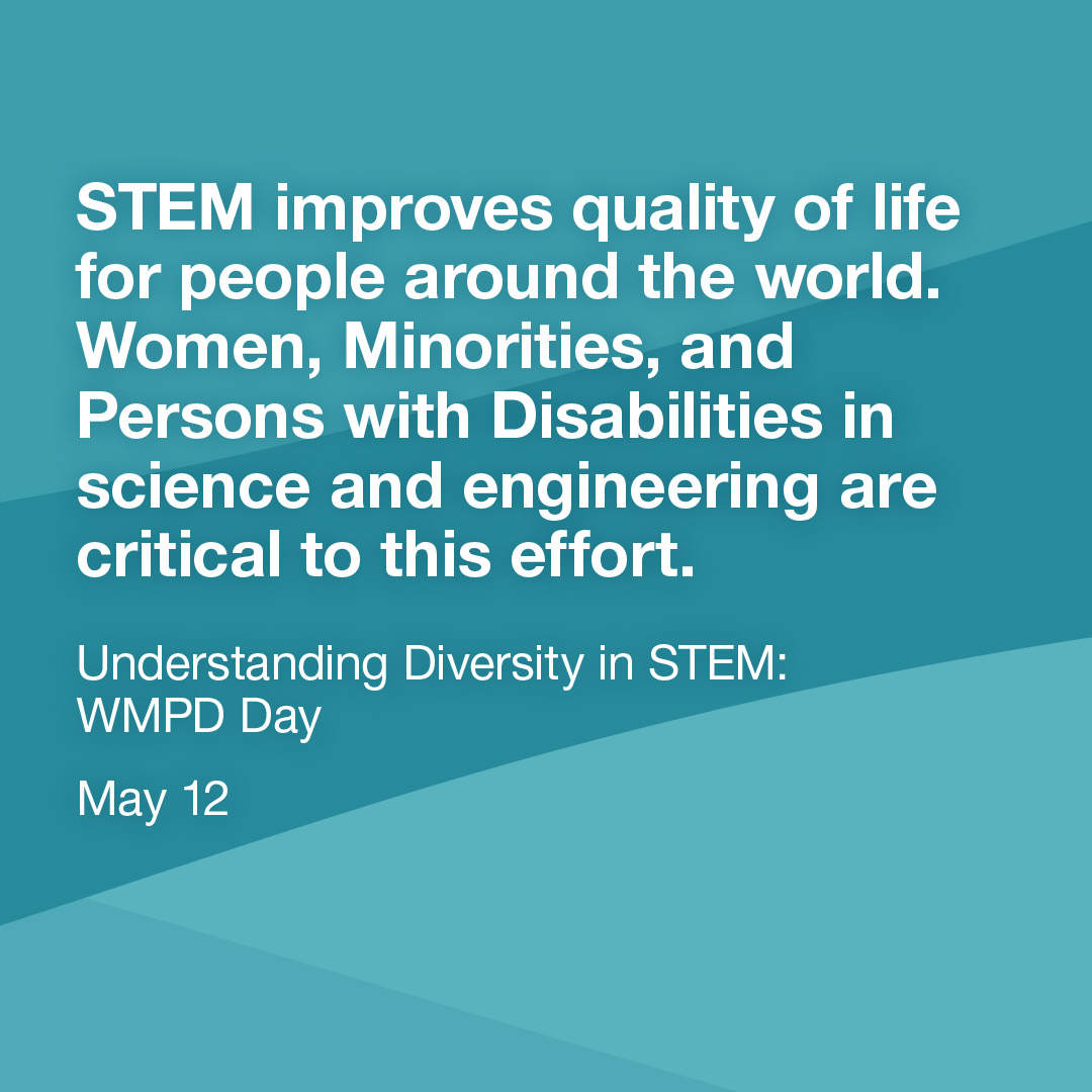 Diversity in STEM: WMPD Day | Join us